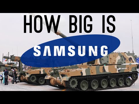 Thumbnail: How BIG is Samsung? (They Have a Military Department!)