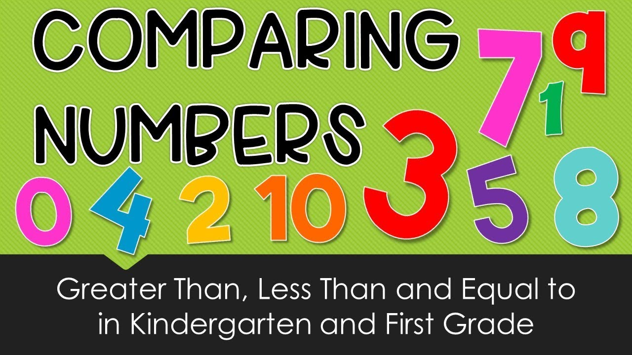 Greater Than Less Than for Kindergarten and First Grade - YouTube [ 720 x 1280 Pixel ]