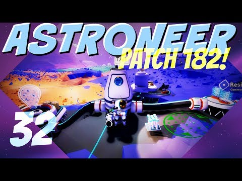 ASTRONEER Patch 182 ► Episode 32: A New Cave Base on Arid (Let's Play Series)