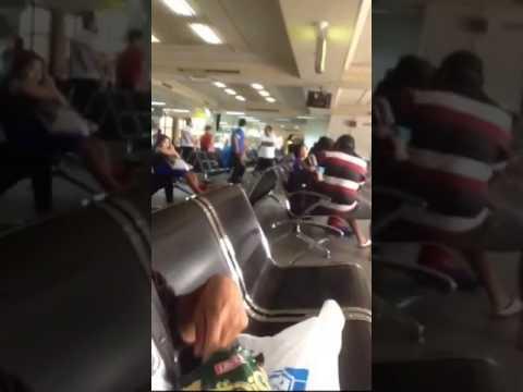 Boarding pas in hang nadim airport batam
