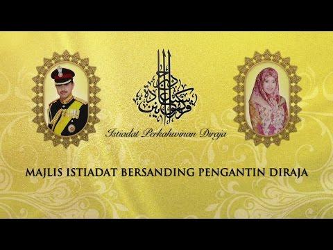Majlis Istiadat Bersanding Pengantin Diraja: Istiadat Perkahwinan Diraja