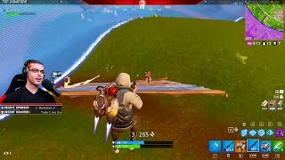 Nick Eh 30 reacts to the NEW Jetpack in Fortnite! (First Reaction + Gameplay)