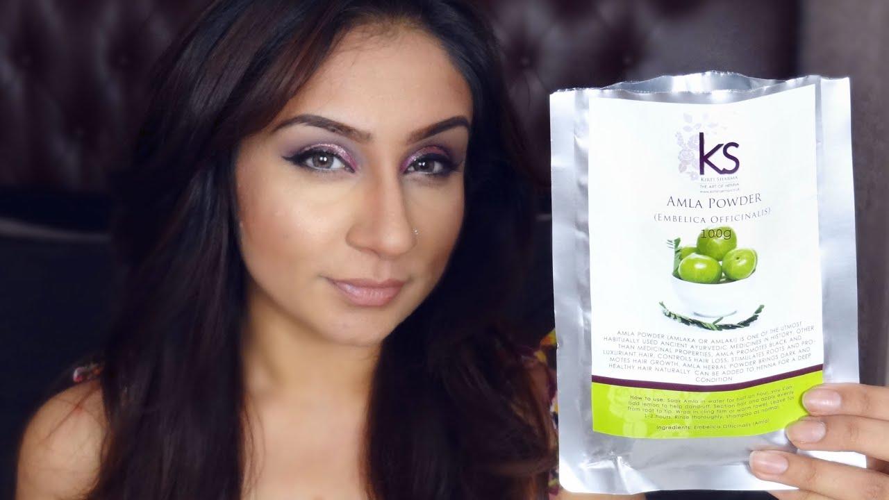 Review Amla Powder Hair Treatment Grow Hair Prevent Hair