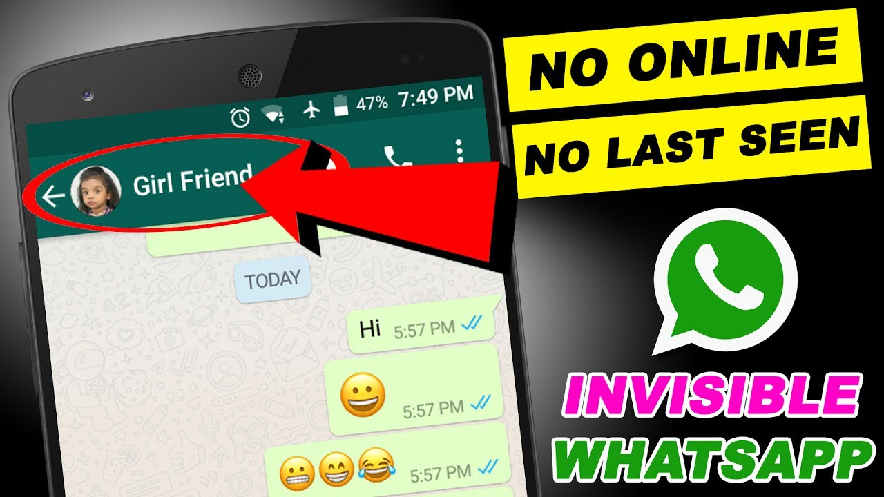 How To Hide Whatsapp Chat No Online No Last Seen Invisible Whatsapp Chat Onlinetamil Tech
