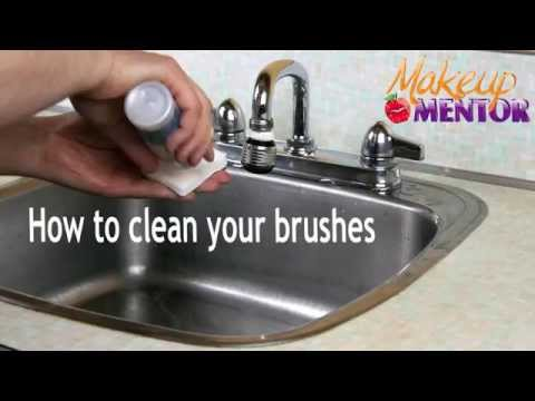 How to clean your makeup brushes. (Quick to full clean for real to synthetic brushes)