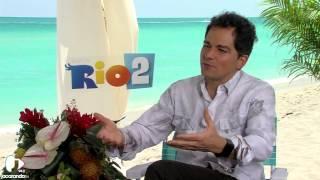 Martin Bester & Director Of Rio 2 Carlos Saldanha