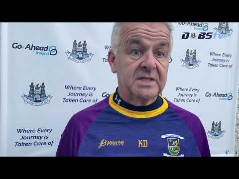 Kilmacud Crokes manager Kieran Dowling chats to DubsTV after win over Cuala