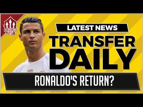 RONALDO To MANCHESTER UNITED? MUFC Transfer News