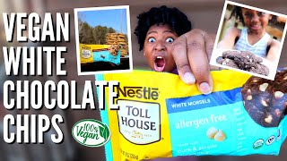 NEW Nestle VEGAN White Chocolate Chips + chicken nuggets, pizza & meatballs   VEESTRO Review