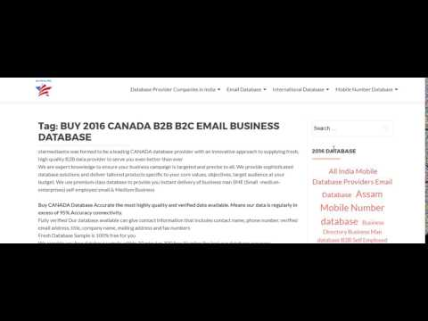 Email Database Varanasi