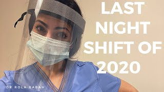 Last Night Shift On General Surgery During COVID | VLOG: Day in the Life of a Surgery Resident