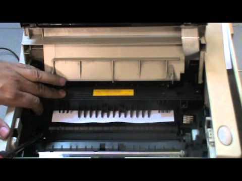 C 243 Mo Solucionar Atascos De Papel En Impresoras Oki Youtube