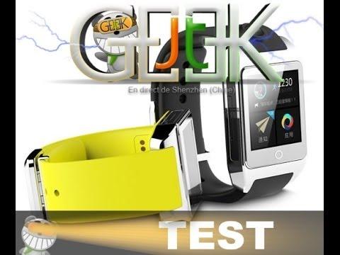 Inwatch Junior et Inwatch Z présenté par GLG du JT Geek
