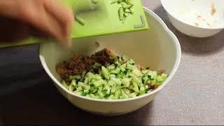 Салат с тунцом за 15 минут