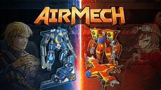 Обзор  игры - 'AirMech' Free Online. Бесплатная онлайн стратегия в стиле MOBA. (Часть 1)