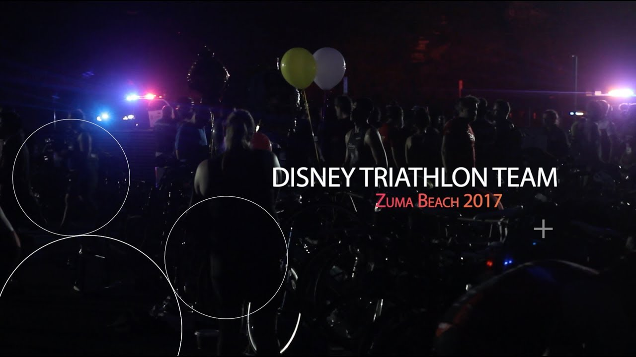 Disney Triathlon Team 2017