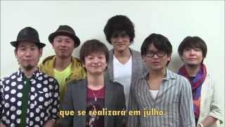 Mensagem exclusiva do INSPi, grupo de canto a capela do Japão. Info...