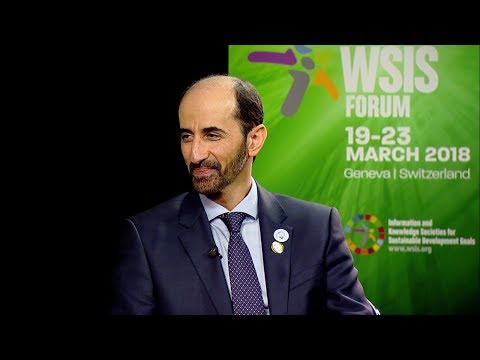 WSIS FORUM 2018 INTERVIEWS: H.E. ENG. MAJED SULTAN AL MESMAR, TRA, UAE