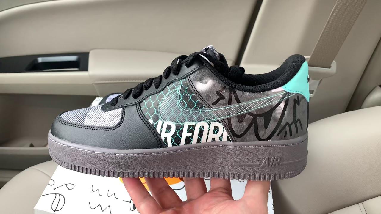 Nike Air Force 1 '07 Premium Off Noir