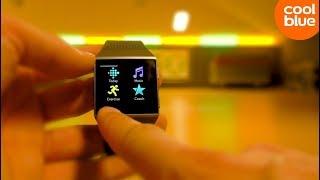 Fitbit Ionic - Uitgetest in de sportschool (met backflip)