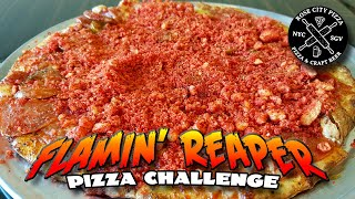 FLAMIN' REAPER PIZZA CHALLENGE *CAROLINA REAPER PIZZA* │ Rose City Pizza