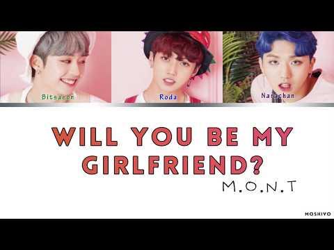 [PL] M.O.N.T (몬트) - Will you be my girlfriend? (사귈래 말래?) Lyrics [Color Coded Han/Rom/Pl]