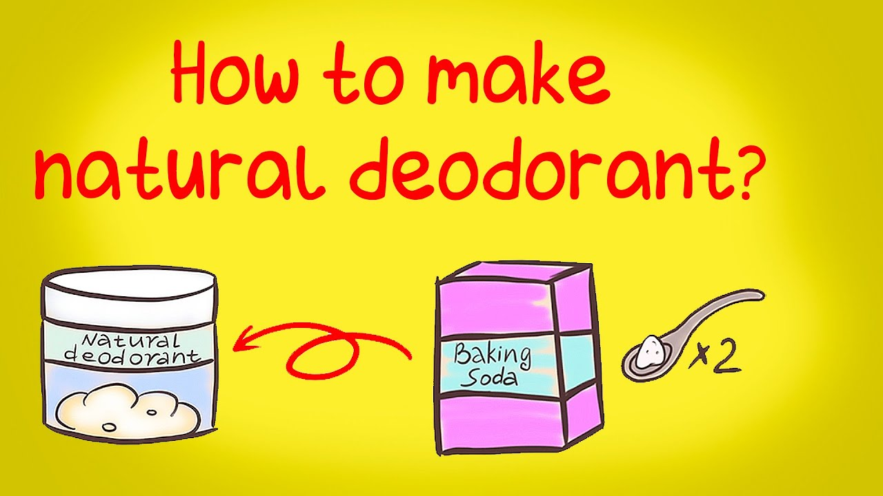 Beauty recipe - How to make natural deodorant / Beauty animation / stop motion