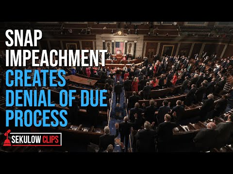 Snap Impeachment Creates Denial of Due Process