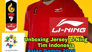 Download Video Review Jersey Li-Ning Tim Indonesia Asian Games 2018 #CaptReview MP3 3GP MP4