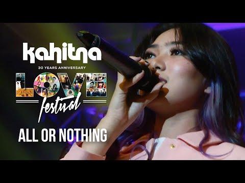 Isyana Sarasvati - All or Nothing   (Kahitna Love Festival)