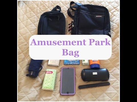 What's in My Amusement Park Bag