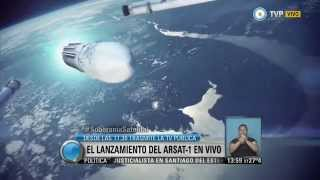 Visión 7 - Lanzamiento del satélite ARSAT-1, en vivo por la TV Pública (3 de 3)