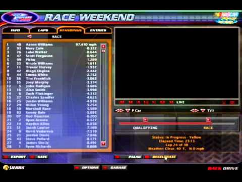 NASCAR Pokemon Cup Series S3R30 - Piggz Stadium (PGS 3-4)