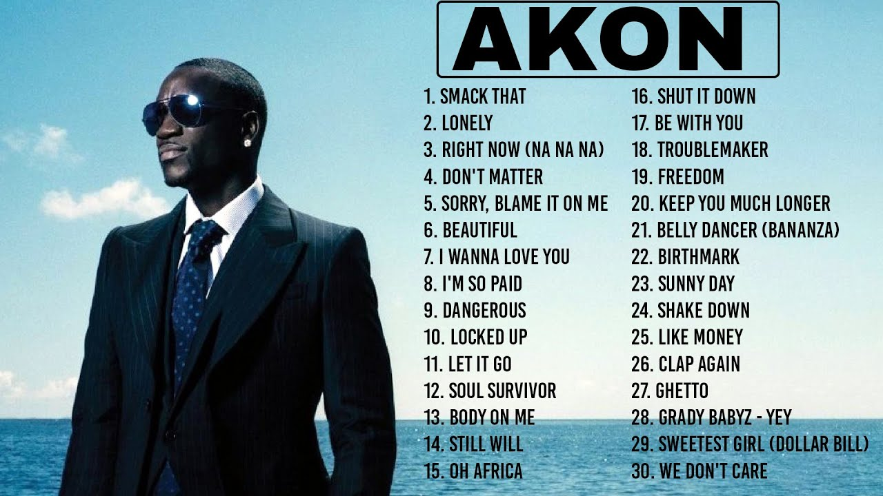 Download A K O N - Greatest Hits 2021   TOP 100 Songs of the Weeks 2021 - Best Playlist Full Album