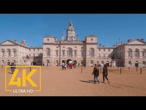 London, Great Britain - 4K Virtual Walking Tour Around The City - Part #1