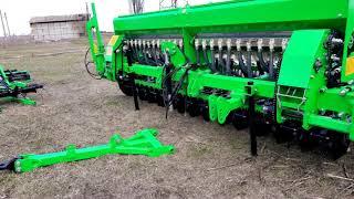 Новая Сельхозтехника от VELESAGRO: сеялка NIKA 4 , культиватор KPG 4.  Для трактора МТЗ-82.