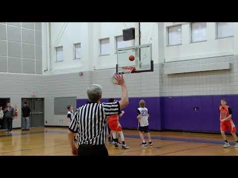 Nichols vs. Norton Middle School - Boys Winter Middle School Basketball 01/06/2020