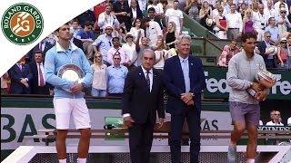 Rafael Nadal's Victory Speech - Men's Final 2014 - Roland Garros.