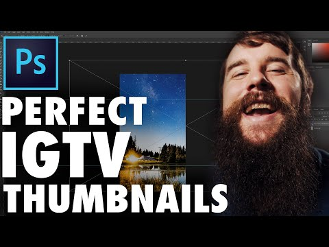 IGTV Cover Thumbnail Sizing Guide (FREE Photoshop Template Download)