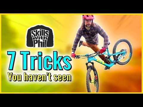 7 NEW Mountain bike Tricks You Have Not Seen In Other Videos [4K]