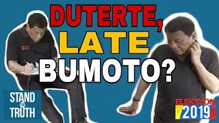 Stand for Truth: May 13, 2019 (Duterte, late bumoto?!)