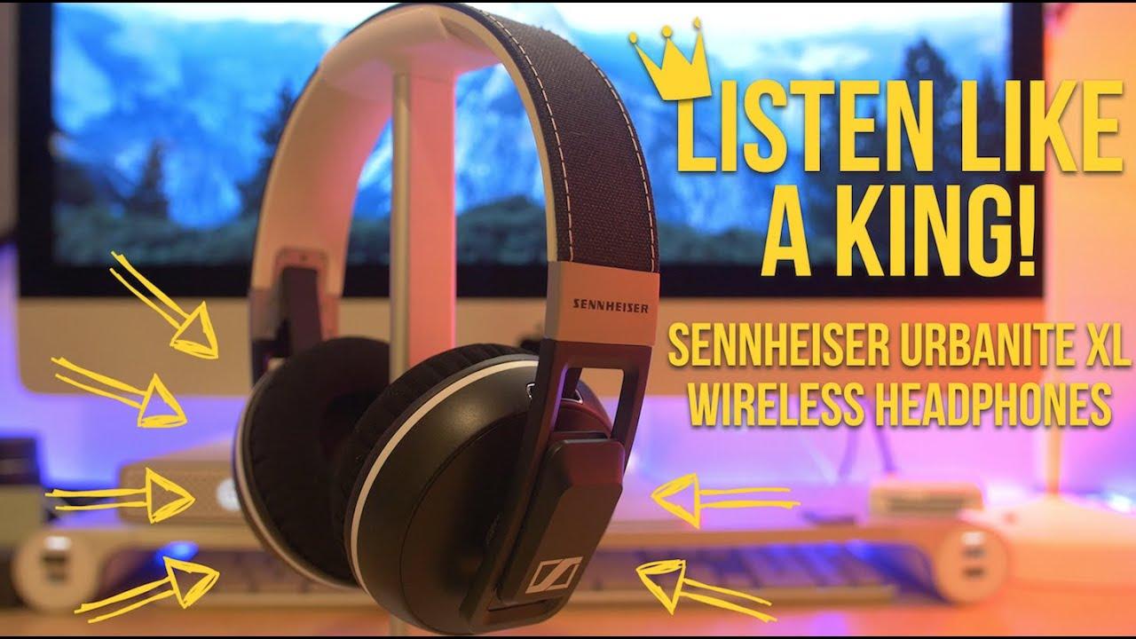 b8870997e78 Sennheiser Urbanite XL Wireless Headphones Review - YouTube
