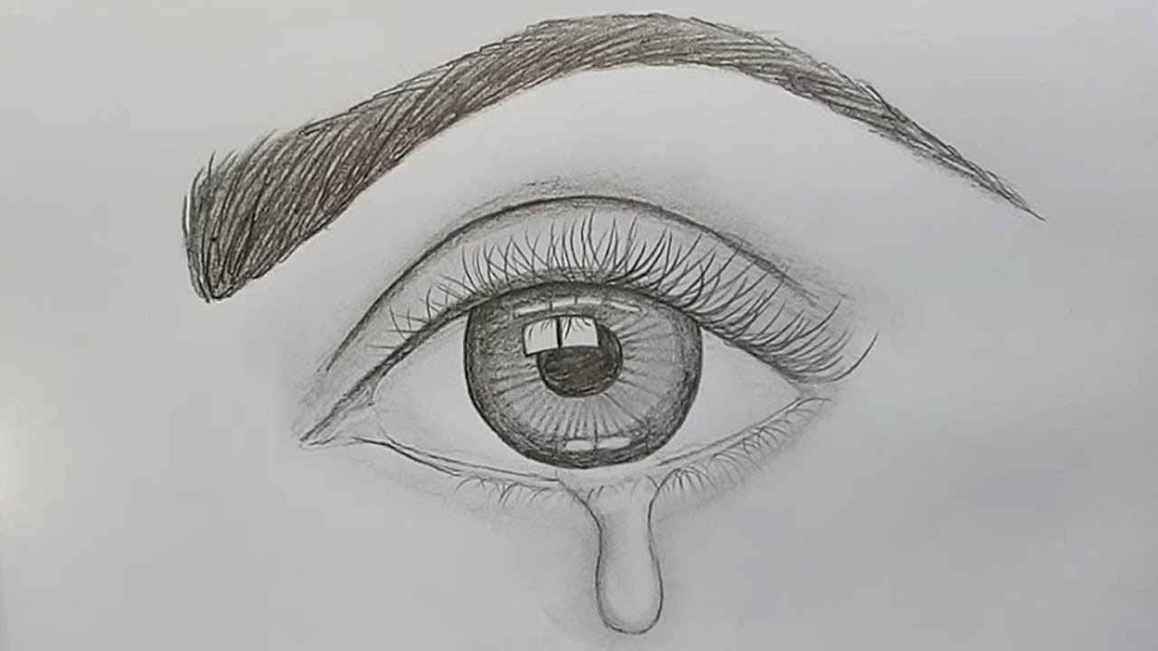 How to draw a realistic eye for beginners