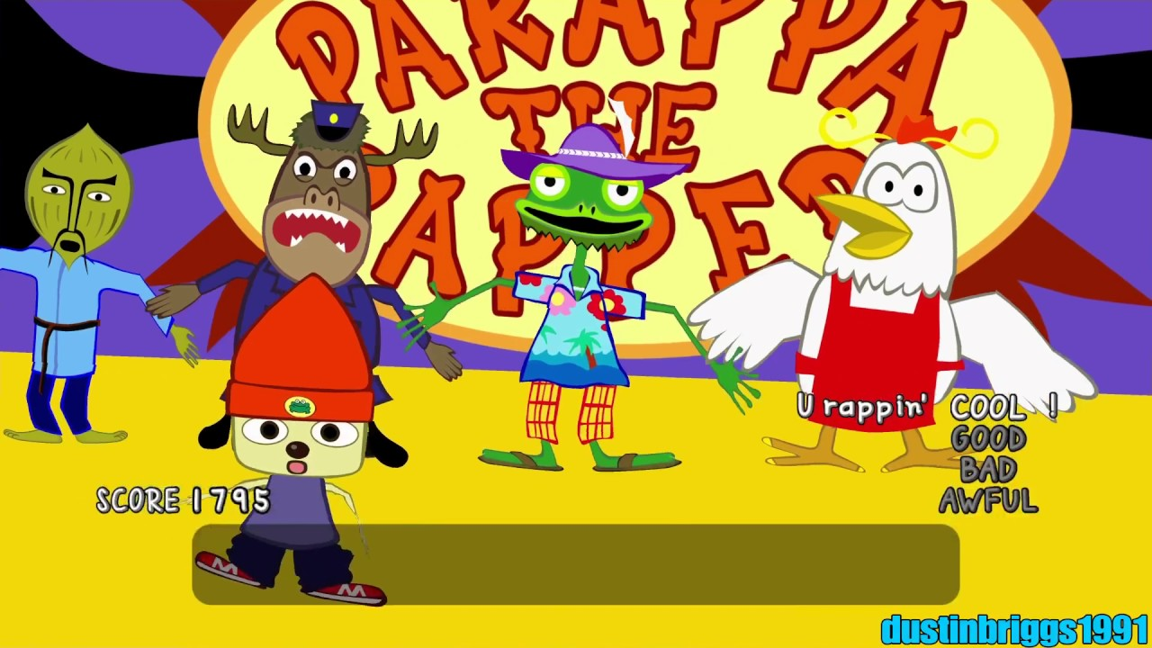 3b3f3f03673 PaRappa The Rapper Remastered (PS4) - Stage 6  I Gotta Believe!! (Cool Mode)