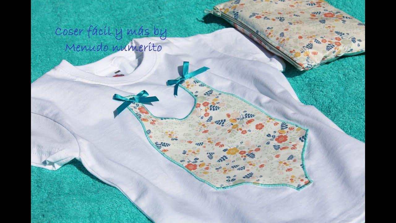 Personalizar camisetas con aplicaciones en tela youtube - Telas con dibujos infantiles ...