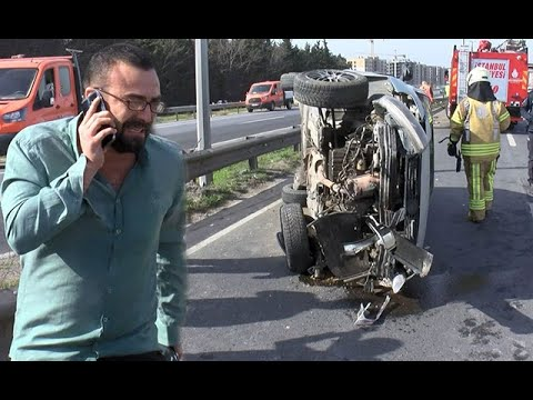 Kaza sonrası ''yarış'' isyanı! Korku dolu anları böyle anlattı