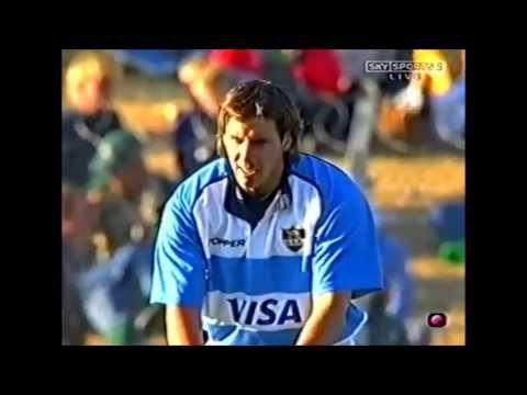Gonzalo Quesada 55 metre kick vs South Africa 2002