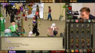 OSRS Duel arena - 25M to 1000M !! THE DREAM !!