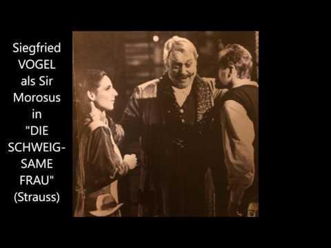 Strauss: Die schweigsame Frau (1991, Vogel, Siebert, Spiewok, Rennert)