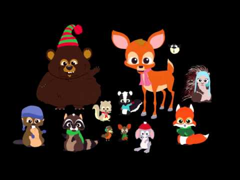 10 hour critter christmas song - YouTube